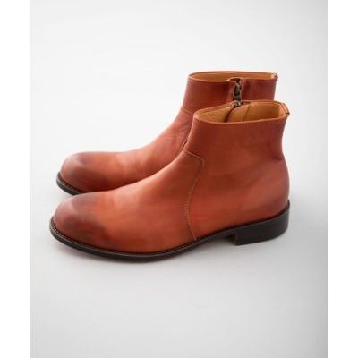 STUDIOUS MENS / 【PADRONE】SIDE ZIP BOOTS/サイドジップショートブーツ/PU7358-1118-15A MEN シューズ > ブーツ