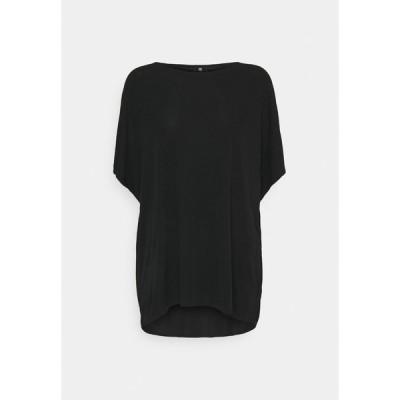 リアニ Tシャツ レディース トップス Basic T-shirt - black