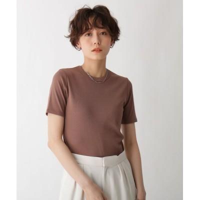 tシャツ Tシャツ オーガニックコットン混フライスT【WEB限定サイズ】【GISELeコラボ商品】