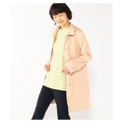 大きいサイズ DECOY ダブルフェイスステンカラーコート ,スマイルランド, コート, plus size coat