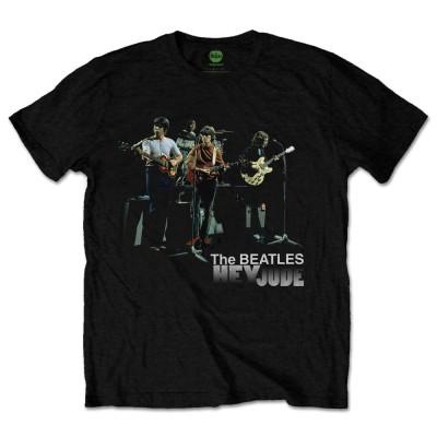 BEATLES ビートルズ (来日55周年記念 ) - HEY JUDE VERSION 2 / Tシャツ / メンズ 【公式 / オフィシャル】(S)