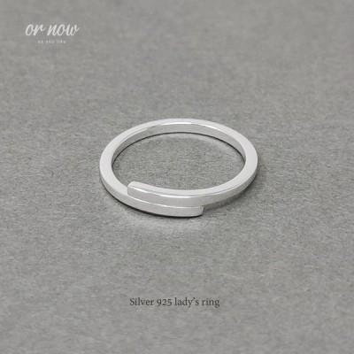 レディース シルバーリング シルバー925 リング シンプル 指輪 レディースアクセサリー 女性 大人 彼女 誕生日 プレゼント tlsr-014