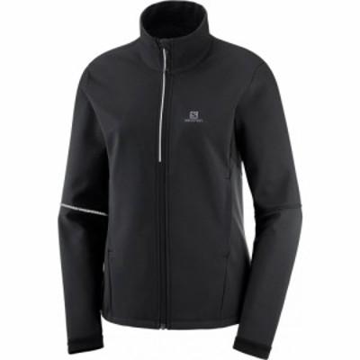サロモン Salomon レディース スキー・スノーボード ソフトシェルジャケット アウター agile softshell xc ski jacket Black