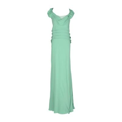 アルベルタ フェレッティ ALBERTA FERRETTI ロングワンピース&ドレス ライトグリーン 42 100% シルク ロングワンピース&ドレス