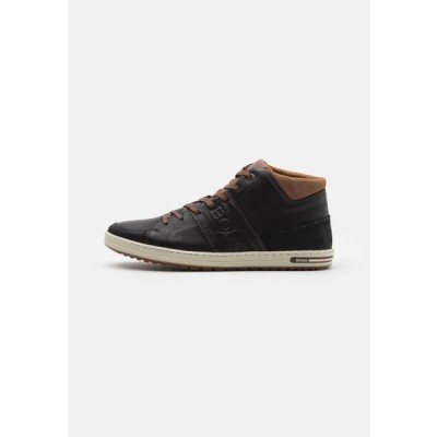 ビヨンボルグ メンズ 靴 シューズ CURD MID - High-top trainers - black
