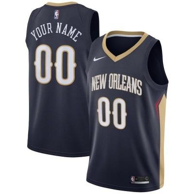 ナイキ メンズ Tシャツ トップス New Orleans Pelicans Nike 2020/21 Swingman Custom Jersey Icon Edition