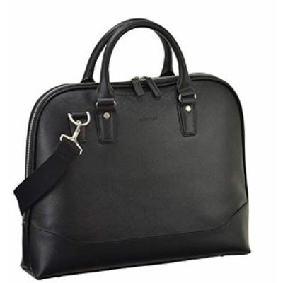 ビジネスバッグ ショルダーバッグ メンズ ブリーフケース B4 A4 ショルダー付き 通勤 ビジネス 黒 ブラック 横幅38cm