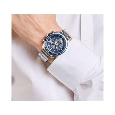 SEIKO セイコー SSB321P1 クロノグラフ ネイビー メンズ 腕時計