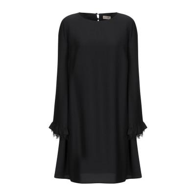 SCEE by TWINSET ミニワンピース&ドレス ブラック M ポリエステル 100% ミニワンピース&ドレス