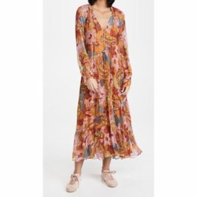 ファーム FARM Rio レディース ワンピース マキシ丈 ワンピース・ドレス Banana Floral Maxi Dress Multi