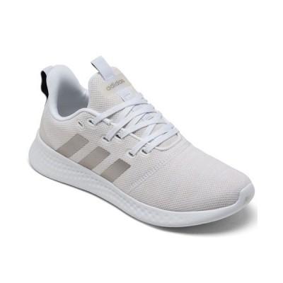 アディダス スニーカー シューズ レディース Women's Puremotion Casual Sneakers from Finish Line Footwear White, Chalk