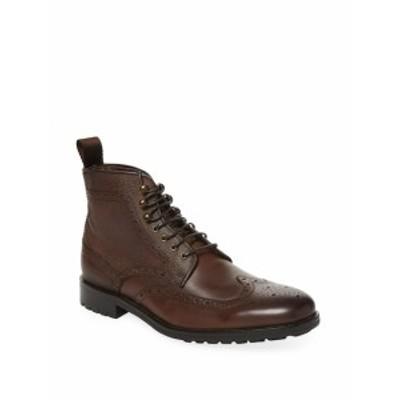 マルコヴィットリオ メンズ シューズ ブーツ Wingtip Leather Boot