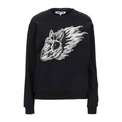 マックキュー アレキサンダー・マックイーン McQ Alexander McQueen スウェットシャツ ブラック XS コットン 100% / ポ