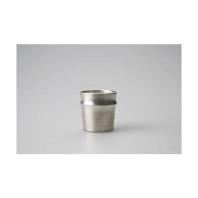 能作 錫器 ぐい呑 - 竹 501280