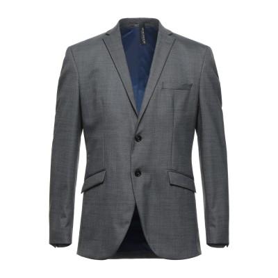 SELECTED HOMME テーラードジャケット 鉛色 46 リサイクルポリエステル 51% / ウール 47% / ポリウレタン 2% テーラー
