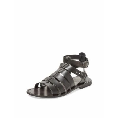 ミラマーレイタリア メンズ サンダル スリッポン Leather Gladiator Sandal