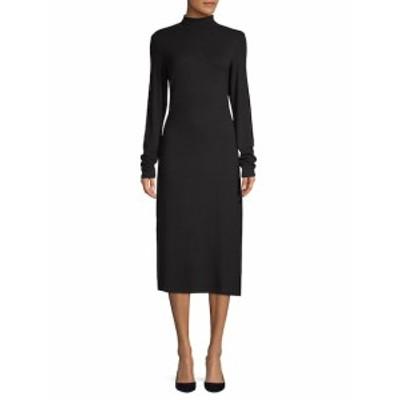 ジェームズパース レディース ワンピース Long-Sleeve Midi Dress