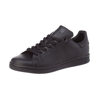 adidas Originals Men's Stan Smith Sneaker, Black/Black/Black, 10