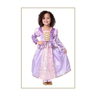 Little Adventures Classic Rapunzel Princess Dress Up Costume (Medium Age 3-5)【並行輸入品】