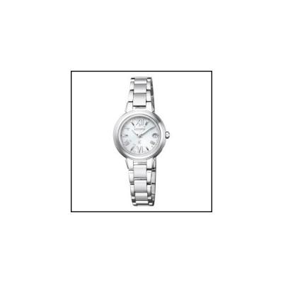 シチズン  クロスシー  Stainless Steel Line Happy Flight  ソーラー 電波 時計  レディース 腕時計  ES9430-54A