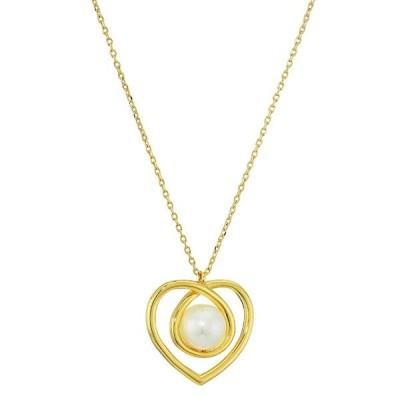 ケイトスペード ネックレス Kate Spade Infinite Hearts Pendant Necklace (Cream/Gold) ハート ペンダント ネックレス(クリーム/ゴールド)