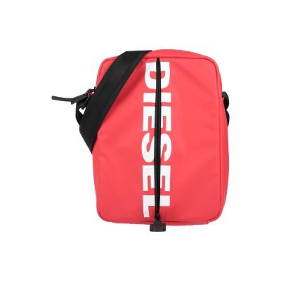 ディーゼル DIESEL メッセンジャーバッグ レッド ポリウレタン 100% メッセンジャーバッグ