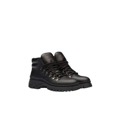 プラダ PRADA ブーティ ブーツ シューズ 靴 ネロ ブラック カーフレザー