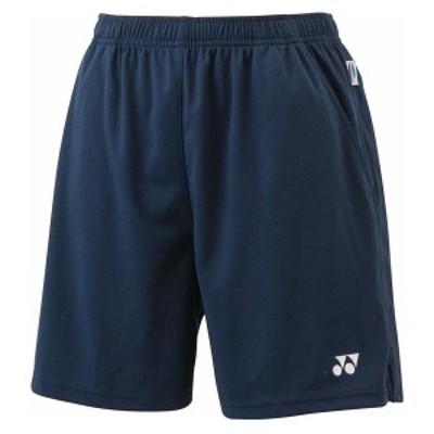ヨネックス テニス レディース ニットストレッチハーフパンツ 16 ネイビーブルー ケームシャツ・パンツ(25008-019)