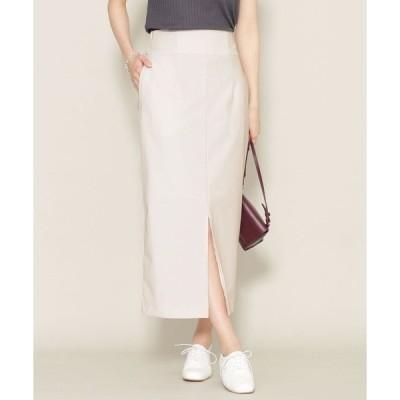 スカート ニューワンダー ハイウエストIラインスカート (セットアップ可)