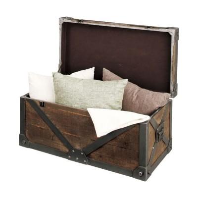 完成品 収納ボックス 木箱風 デザイン家具 インテリア トランク トロール L ボックス BOX 収納BOX 木箱 収納家具 収納ケース 個性的 箱 デザイン おしゃれ
