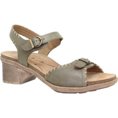 ドロミダリス Dromedaris レディース サンダル・ミュール アンクルストラップ シューズ・靴 Sandy Ankle Strap Sandal Mint Leather