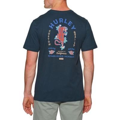 ハーレー Hurley メンズ Tシャツ トップス Everyday Washed Tiger Short Sleeve T-Shirt Obsidian