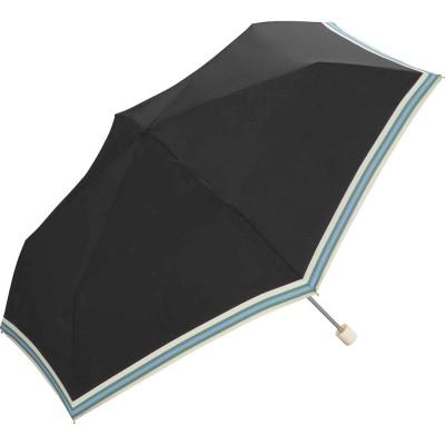 ダブルピーシー Wpc. ワールドパーティー W.P.C wpcfold23003 折りたたみ傘 (ボールドラインブラック)