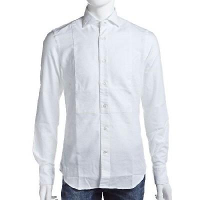 ハイドロゲン HYDROGEN シャツ 長袖 メンズ 130400 ホワイト H2J 目玉商品