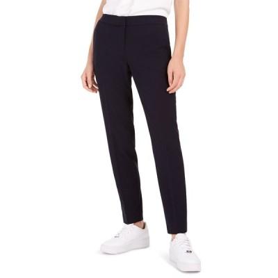 バースリー カジュアルパンツ ボトムス レディース Straight-Leg Dress Pants,  Navy