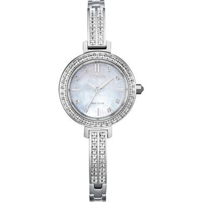 CITIZEN シチズン Eco Drive エコドライブ SILHOUETTE CRYSTAL クォーツ Ladies レディース 腕時計 海外モデル em0860-51d