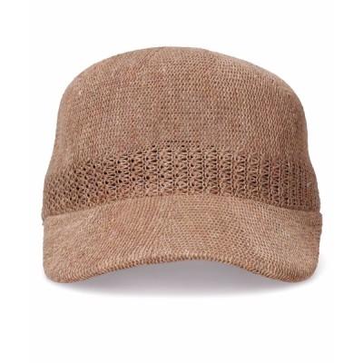 yield / 【Basiquenti】Linen Thermo Cap BCA-Y01490 MEN 帽子 > キャップ