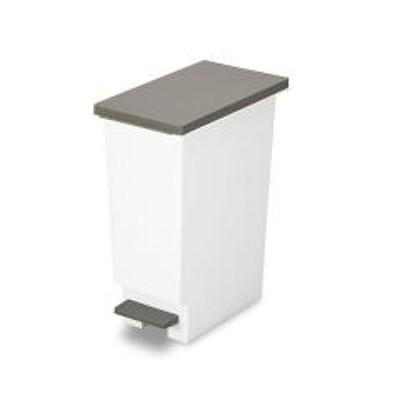 ゴミ箱 分別 ペダル式 ネオカラー スリムペダル 20 ブラウン ( ごみ箱 ダストボックス ダストBOX 20L 20l スリム キッチン 台所 リビング 部屋 おしゃれ )