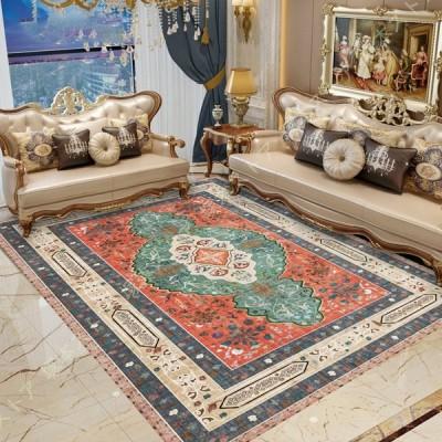 カーペット オシャレ ラグ カーペット 可愛い ボヘミアン風 リビングラグ 華奢 上品 センターラグ 寝室 大きいサイズ こども部屋 下敷き 長方形 低反発