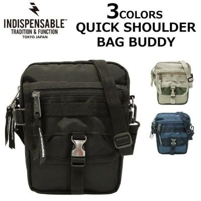 INDISPENSABLE インディスペンサブル クイック ショルダーバッグ バディー QUICK SHOULDER BAG BUDDY ショルダーバッグ メンズ レディース 14042400