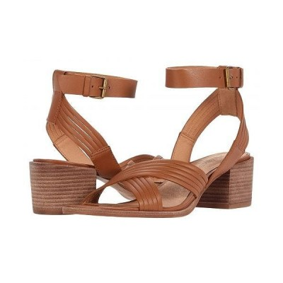 Madewell レディース 女性用 シューズ 靴 ヒール Olson Multi Strap Heeled Ankle Strap Sandal - English Saddle