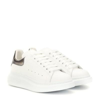 アレキサンダー マックイーン Alexander McQueen レディース スニーカー シューズ・靴 leather sneakers White Blk Pearl