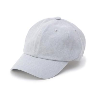 WORLD ONLINE STORE SELECT / コットンベーシックキャップ WOMEN 帽子 > キャップ