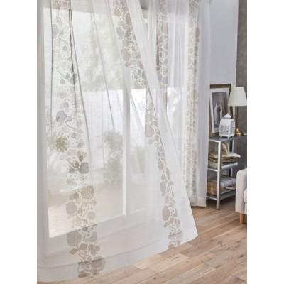 DESIGN LIFE 北欧デザイン レースカーテン(1枚)CUCO VOILE クコボイル(100×133)ウォッシャブル 国産 日本製 スミノエ