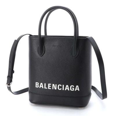 バレンシアガ BALENCIAGA トートバッグ 2WAY VILLE TOTE XXS ヴィル ブラック レディース 596159-1iz1m-1090