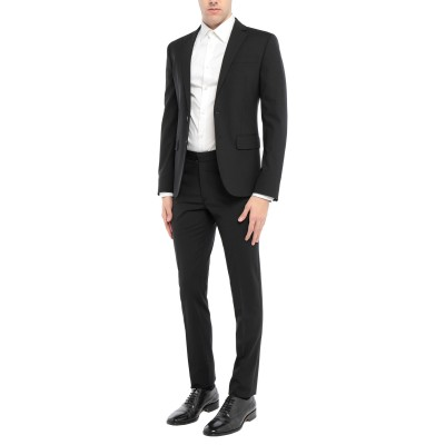 ディースクエアード DSQUARED2 スーツ ブラック 50 バージンウール 95% / ポリウレタン 5% / ポリエステル スーツ