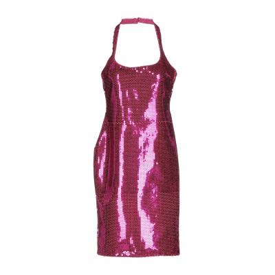 ジェレミー・スコット JEREMY SCOTT ミニワンピース&ドレス フューシャ 44 ポリエステル 100% ミニワンピース&ドレス