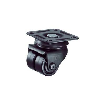 ハンマーキャスター 550P-NRB50BAR01 低床式 中荷重 自在 双輪 ナイロンB車 50mm