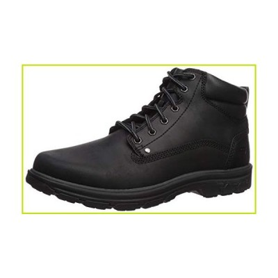Skechers メンズ セグメントガーネット ファッションブーツ US サイズ: 8.5 XX-Wide カラー: ブラック【並行輸