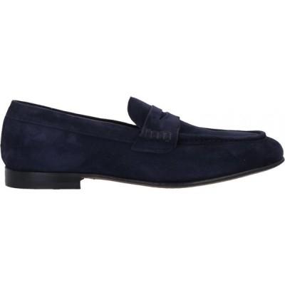 ステファノ ブランキーニ TROFEO by STEFANO BRANCHINI メンズ ローファー シューズ・靴 loafers Dark blue